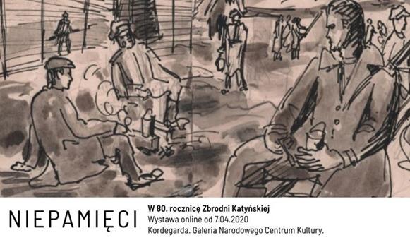 """Wystawa """"Niepamięci"""" online w Narodowym Centrum Kultury"""