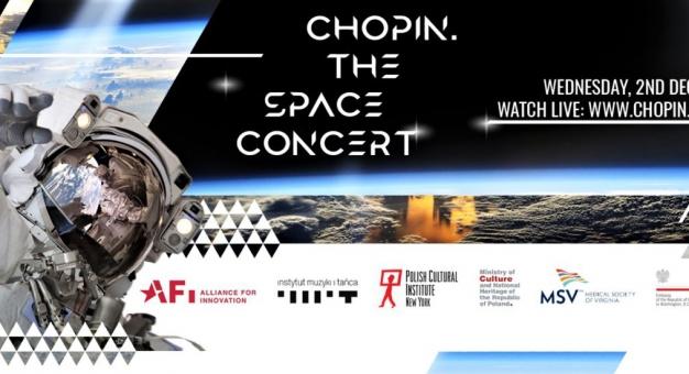 """Premiera filmu-koncertu """"Chopin. The Space Concert"""" - 2 grudnia"""