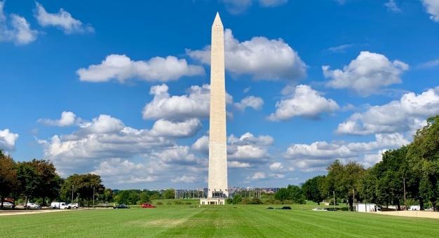 Monument Waszyngtona znów otwarty! Posłuchaj relacji naszej waszyngtońskiej korespondentki - Lidii Krawczuk
