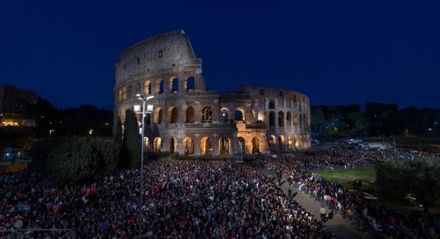 Kolejny rekord zwiedzających w Koloseum