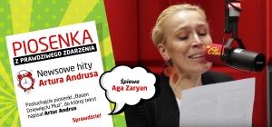 """Aga Zaryan w piosence """"Basen Dziewięciu Muz"""" z tekstem Artura Andrusa"""
