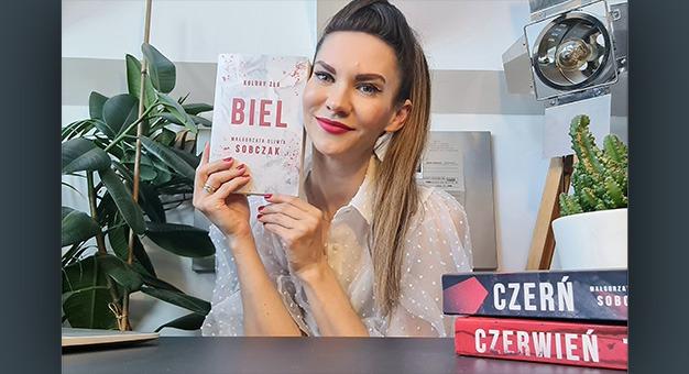 Ostatni tom mrocznej serii - Biel Małgorzaty Oliwii Sobczak