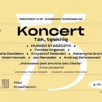 W środę koncert