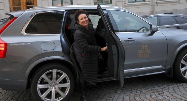 Tokarczuk spotkała się z tłumaczami jej książek w Instytucie Polskim