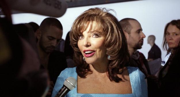 Joan Collins wyznała, że zaszczepiła się przeciw koronawirusowi. Teraz namawia do tego innych