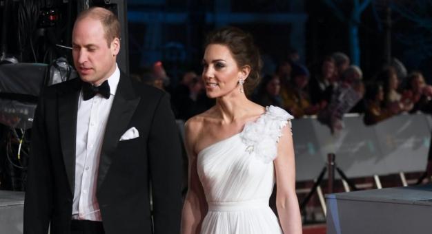 Księżna Kate zachwyciła na gali BAFTA