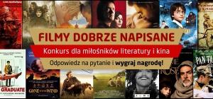Konkurs dla miłośników literatury i kina!