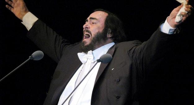 Młody Pavarotti był na tournée po Polsce