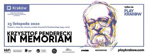 Penderecki in memoriam – zapraszamy na wyjątkowy koncert