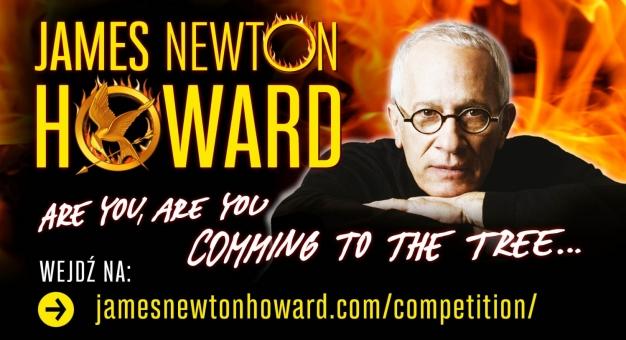 James Newton Howard ogłasza zwyciężczynie konkursu na najlepsze wykonanie The Hanging Tree!