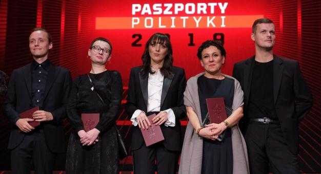 """Bartosz Bielenia i Jakub Józef Orliński z Paszportami """"Polityki"""""""