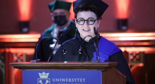 Olga Tokarczuk 11. kobietą z tytułem doktora honoris causa Uniwersytetu Jagiellońskiego
