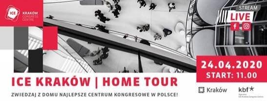 Zwiedzaj ICE Kraków nie wychodząc z domu
